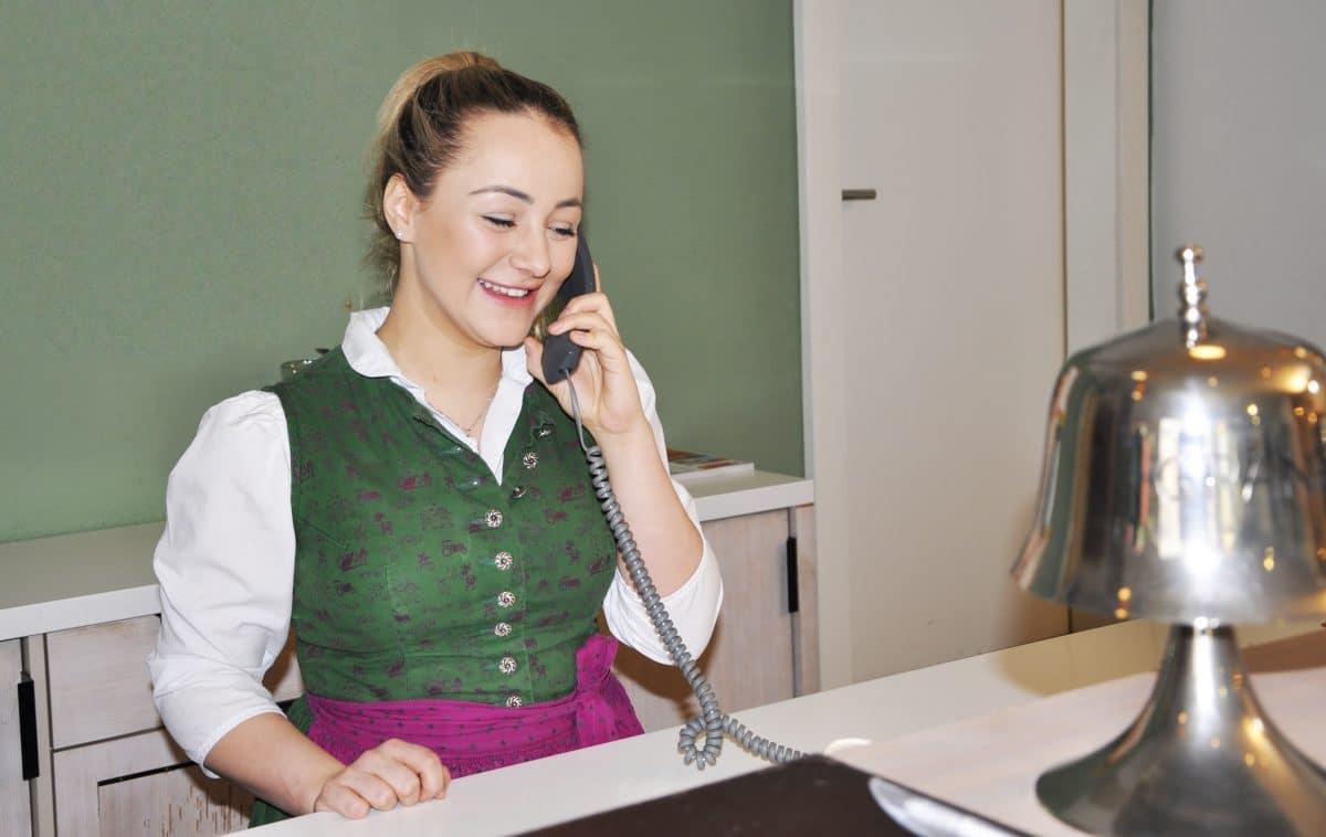 Lea-Marie: Arbeiten im Romantikhotel